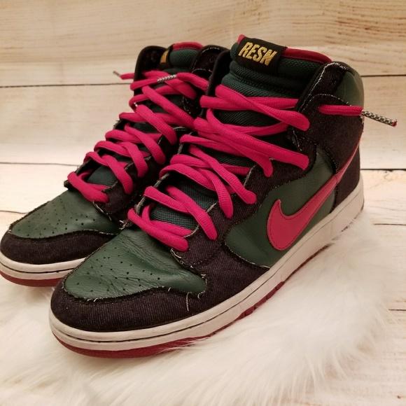 2009 Nike Dunk SB High Premium RESN 313171-362 11